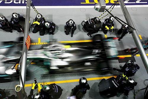 Mercedes ma weekend do zapomnienia