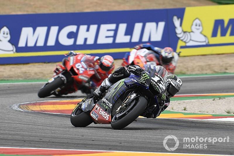 Viñales impuissant face aux Ducati qui l'ont privé du podium