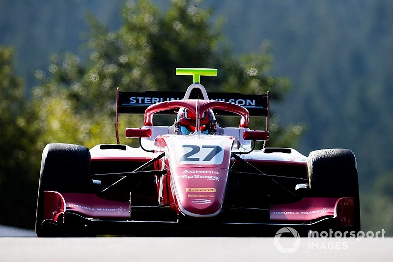 Jehan Daruvala avisa con la pole de la F3 en Spa