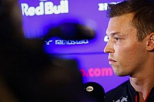 """Kvyat """"can't get too greedy"""" with Red Bull return hopes"""