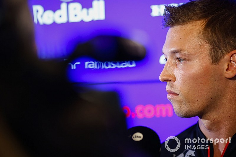 "Kvyat ""can't get too greedy"" with Red Bull return hopes"