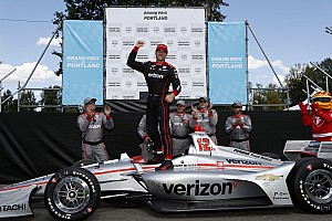 IndyCar: Will Power trionfa a Portland battendo Rosenqvist