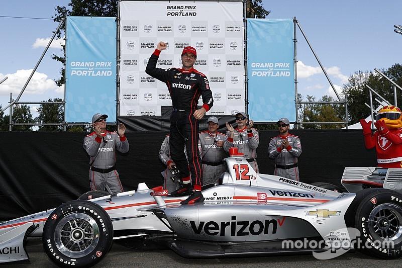 IndyCar Portland: Will Power siegt - Turbulenzen für die Titelanwärter