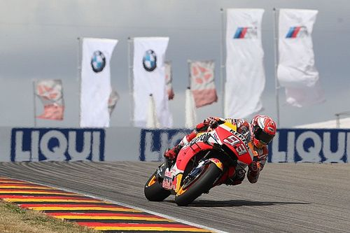 Marquez had Austin crash on his mind at the Sachsenring