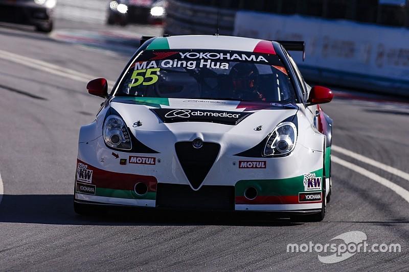 Ningbo, Libere 1: Ma porta davanti l'Alfa Romeo
