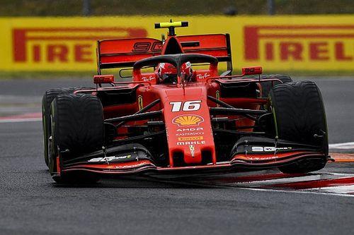 """Leclerc: """"Stiamo lottando un po' con il carico aerodinamico"""""""