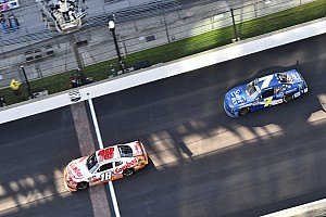 Kyle Busch holds off Allgaier for Indianapolis Xfinity win