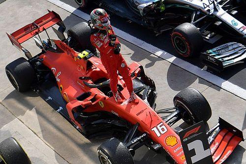 Ferrari подарила Леклеру машину, на которой тот выиграл в Монце