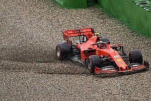 GALERIA: Veja acidentes de Leclerc, Hamilton e Hulkenberg na Alemanha quadro a quadro