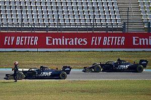 A Haas nem hiszi el: tegnap az egyik leglassabb, most az egyik leggyorsabb autó voltunk
