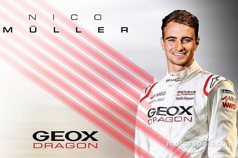 Muller y Hartley, pilotos de Dragon en Fórmula E