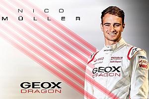 Müller completeert Formule E line-up Dragon