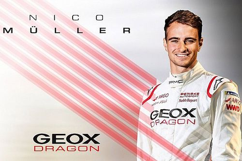 Muller to partner Hartley at Dragon in Formula E