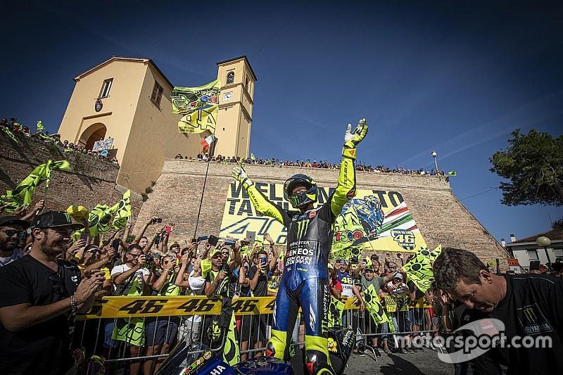 Galería: el sueño cumplido de Rossi en Tavullia