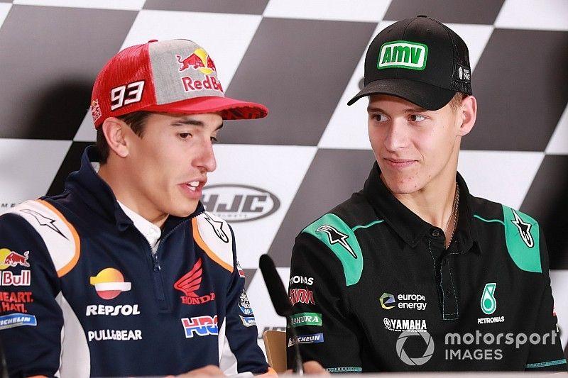 """Marquez: Quartararo not yet facing """"real pressure"""""""