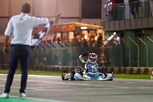 Kimi, el niño llamado a ser la próxima estrella de Mercedes, tiene deberes