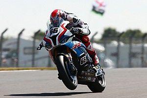 SBK, Donington, Libere 2: Sykes ancora al comando, migliora la Ducati