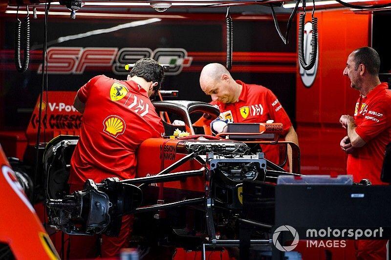 Ferrari опубликовала кадры запуска мотора новой машины