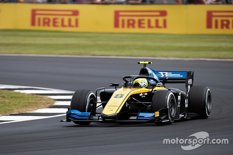 F2 Silverstone: Ghiotto wint eerste race vanaf pole
