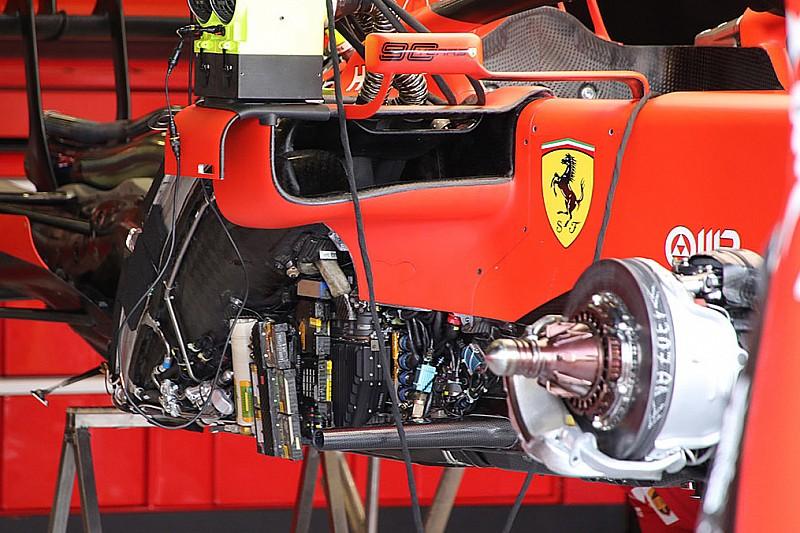 Formel-1-Technik: Detailfotos beim GP Großbritannien