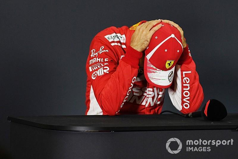 Vettel: Derrota era esperada, mas ainda é dolorosa