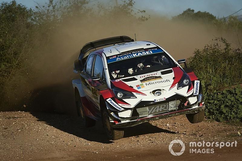 WRC Katalonya: Tanak lastik patlattı, Sordo lider!