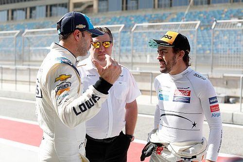 """Alonso tras probar el NASCAR: """"Es un poco volver atrás en el tiempo"""""""