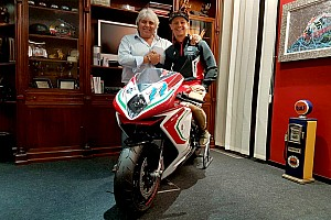 Ufficiale: MV Agusta Forward ingaggia Dominique Aegerter per la Moto2 2019