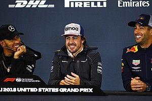 Alonso heureux de voir Hamilton en passe d'égaler Fangio