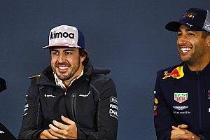 Alonso blij dat Hamilton op gelijke hoogte komt met Fangio