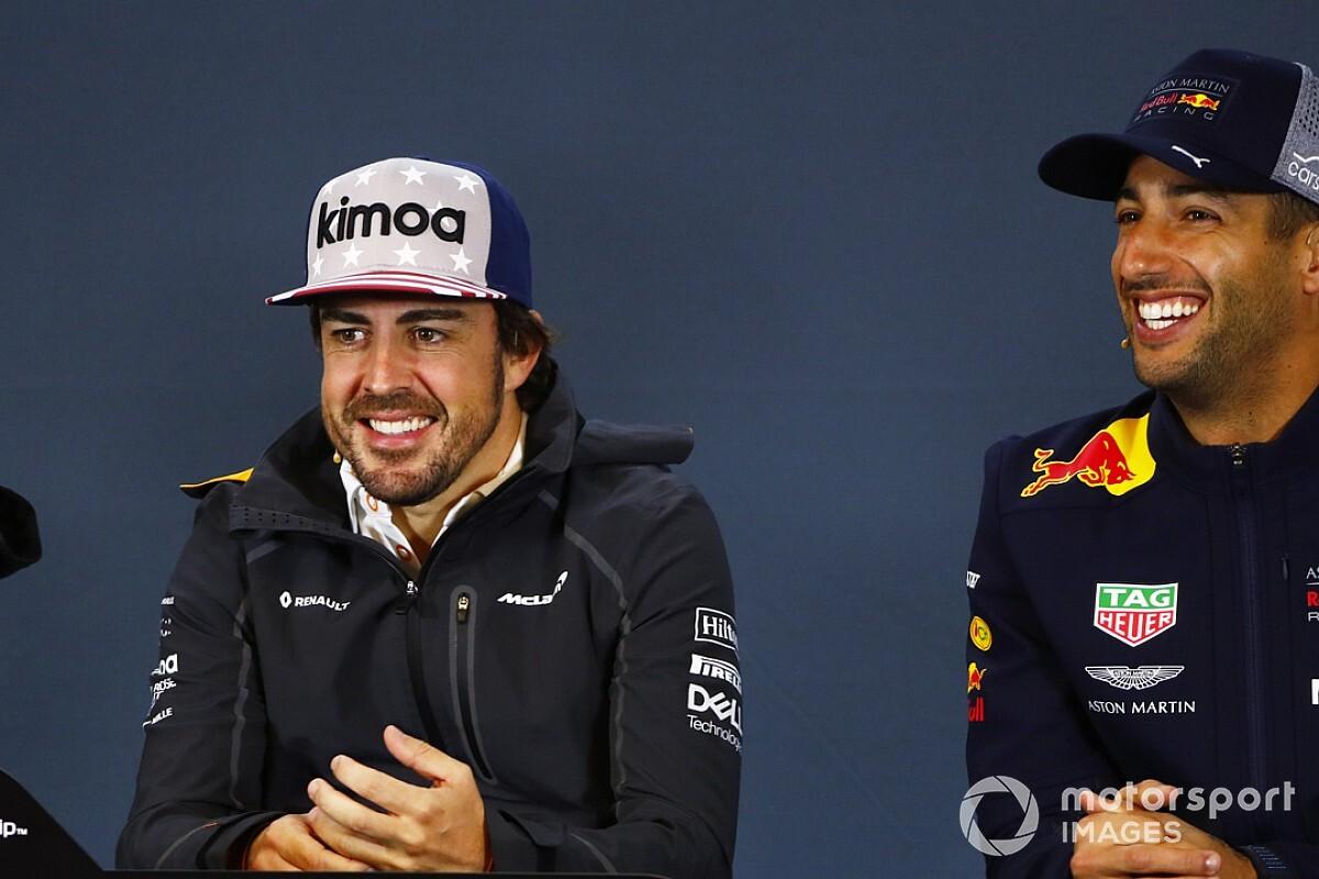 Alonso glad Hamilton will match Fangio