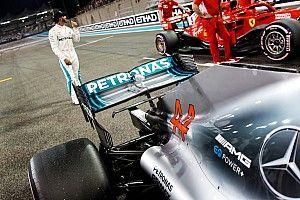 Képekben Hamilton 83. F1-es rajtelsősége Abu Dhabiból: egy őrült rekord