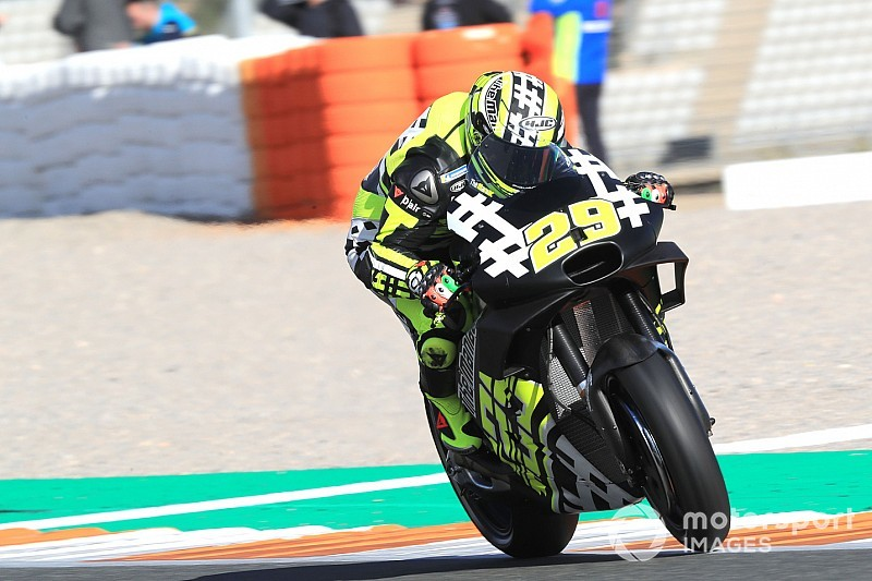 "Surprised Iannone ""expected worse"" from Aprilia"
