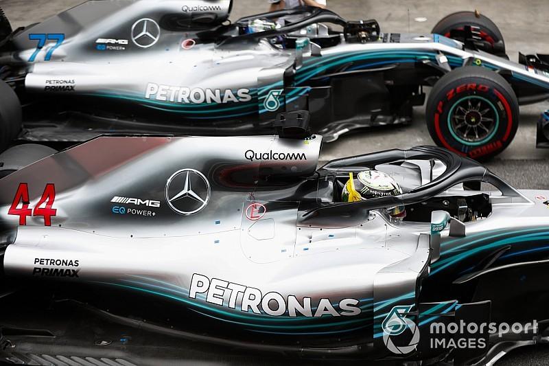 Mercedes admite que se arriesgará ahora que ha ganado los títulos