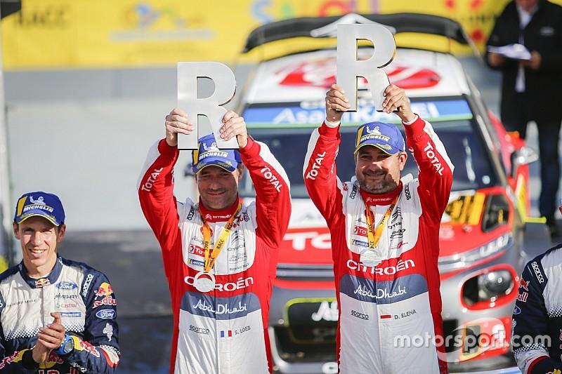 WRC Catalunya: Loeb persembahkan kemenangan untuk Citroen