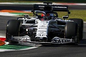 Квят уступил лишь дуэту Mercedes и Элбону по итогам первой тренировки в Монце
