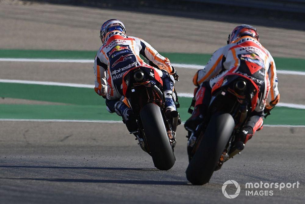 Ecco come Honda ha reso guidabile la moto di Marc Marquez