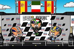Vídeo: el GP de Teruel de MotoGP según MiniBikers