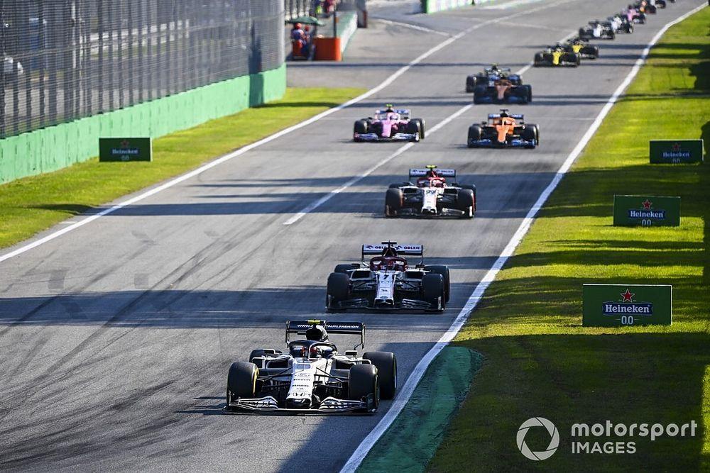 Les notes du Grand Prix d'Italie 2020