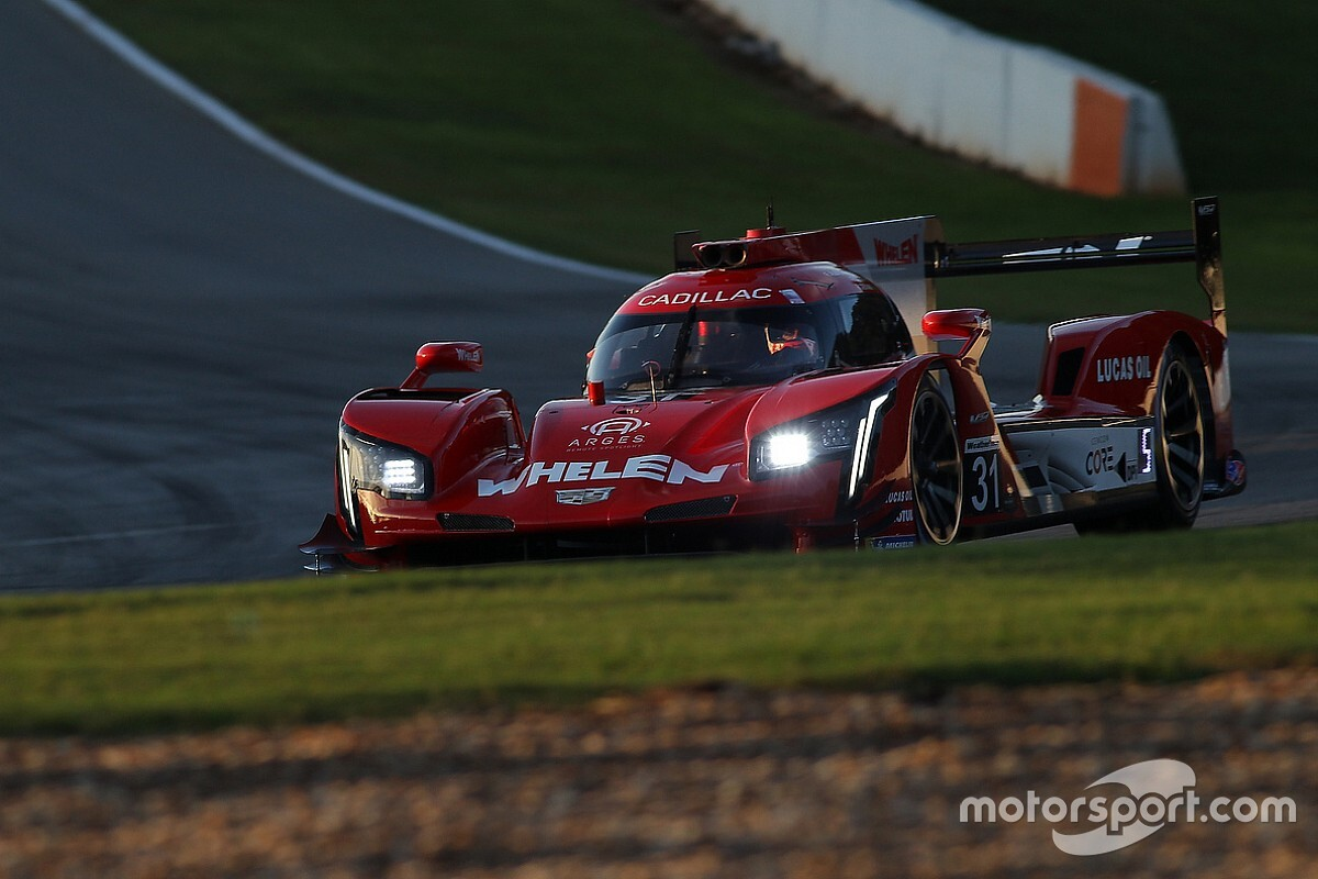 Petit Le Mans: Derani leads Cadillac 1-2 in darkness of FP3
