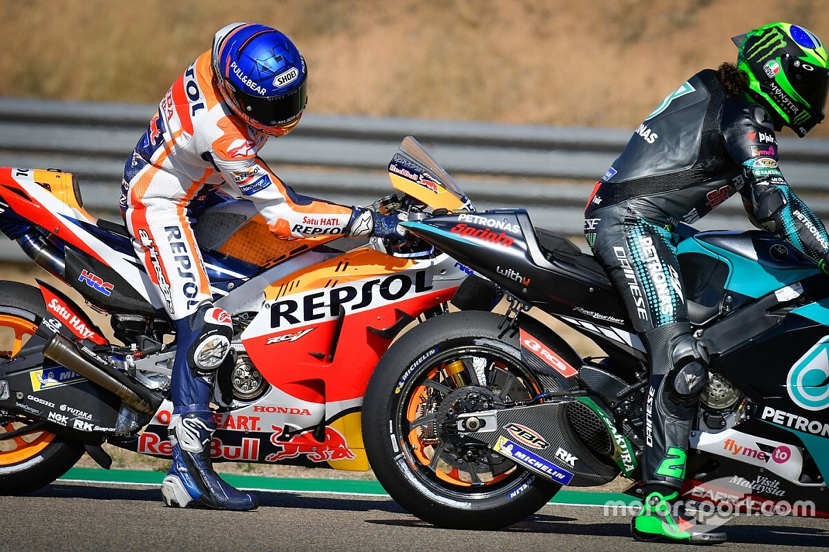 Marquez Tuding Pembalap Yamaha Sadar Ada Kecurangan