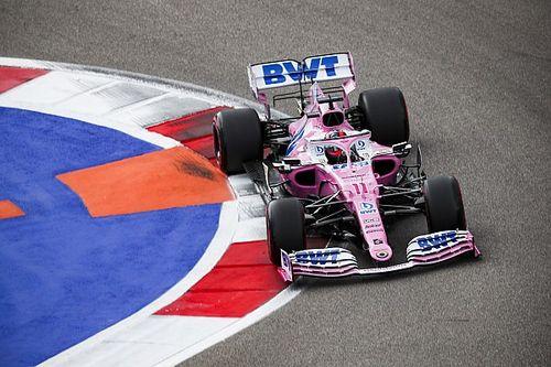 Pérez sorprendido por la vuelta final de Verstappen en Rusia