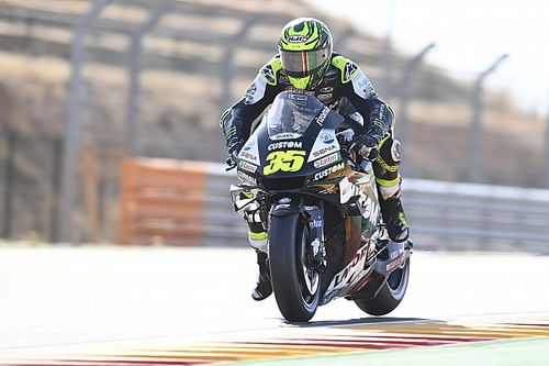 "Crutchlow to have scan after feeling ""snap"" in shoulder"