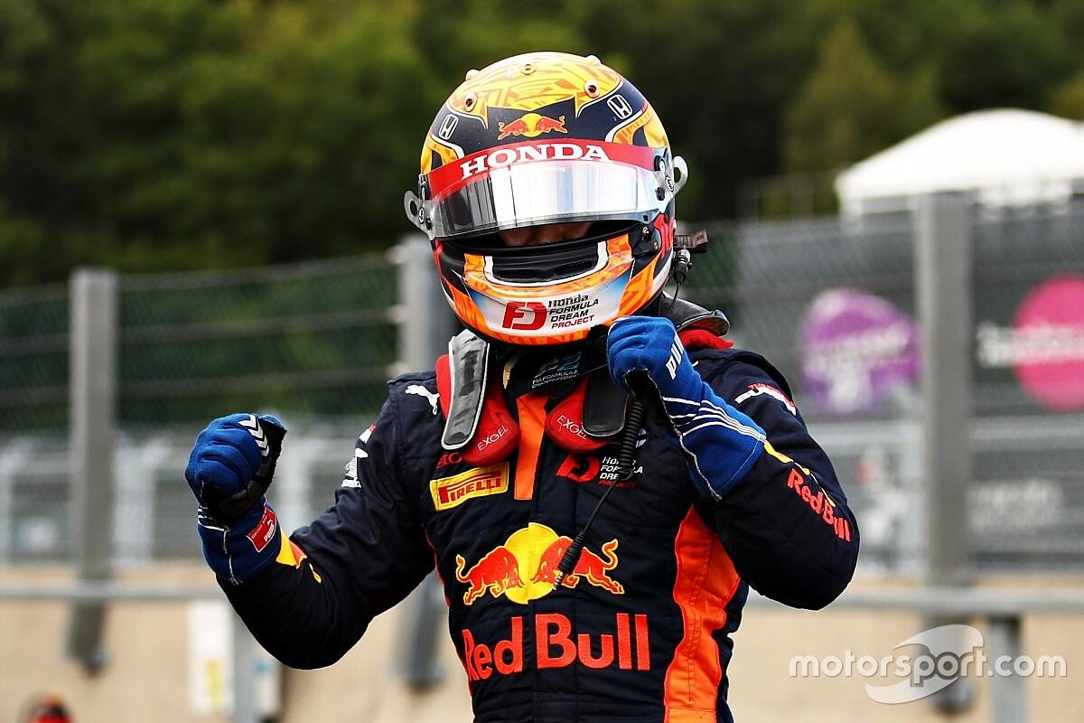 F1: Yuki Tsunoda con AlphaTauri ai rookie test di Abu Dhabi