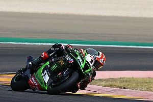 Aragon WSBK: Points leader Rea puts Kawasaki on pole