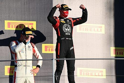 Mazepin gana Mugello 1 y Schumacher toma liderato
