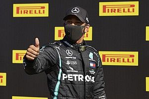Hamiltonnak is mindent bele kellett adnia, hogy meglegyen pályafutása 90. sikere