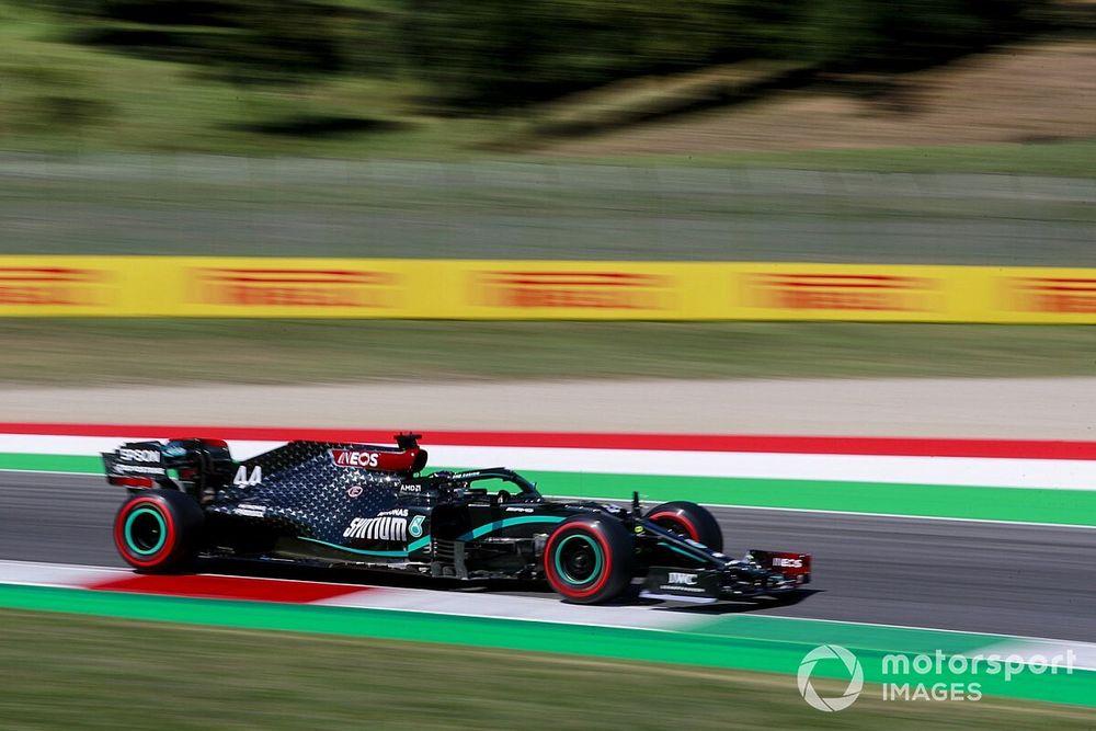 F1トスカーナGP予選:ハミルトンがムジェロを攻略。フェルスタッペンは3番手