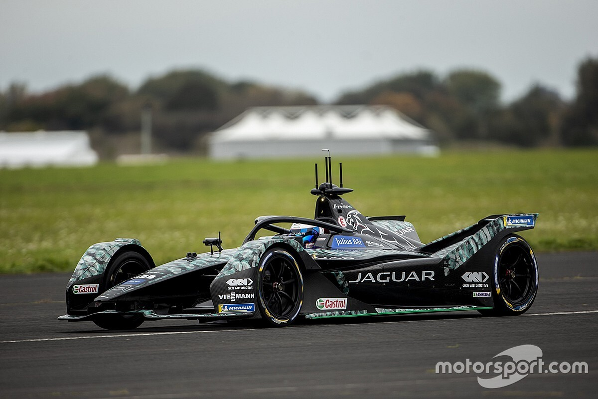 Bird completes first Formula E test with Jaguar