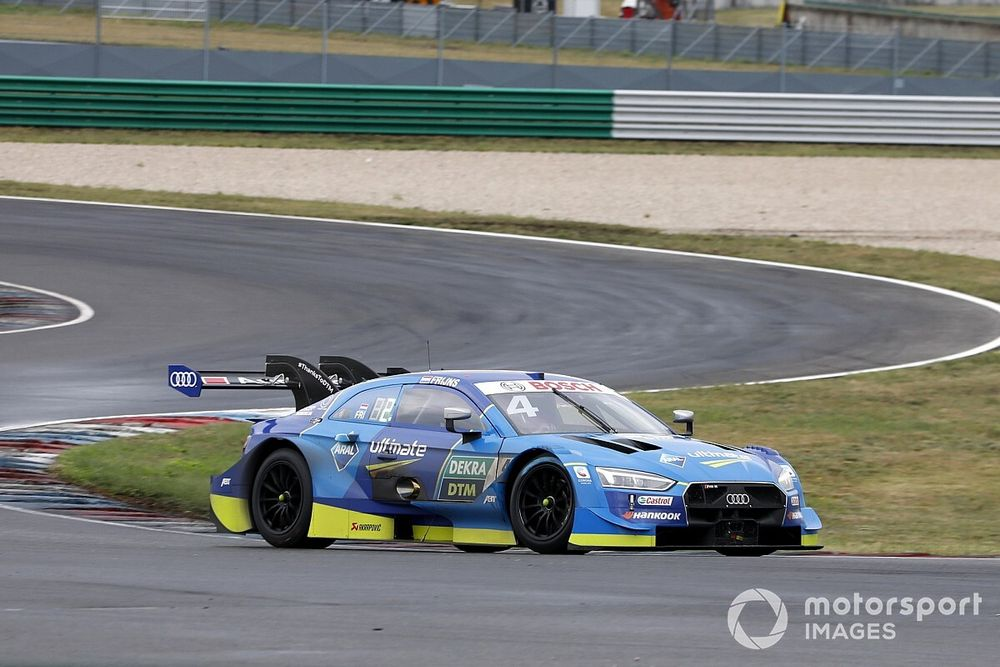 Lausitzring DTM: Frijns beats Muller to pole by 0.018s